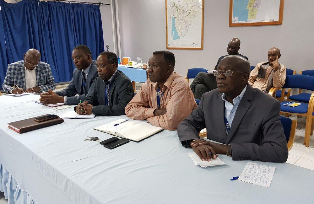 L'envoyé spécial Michel Kafando a rencontré des représentants des partis d'opposition Amizero, Sahwanya et RANAC à Bujumbura, le 6 septembre 2018. Photo: OSESG-B, N. Viban