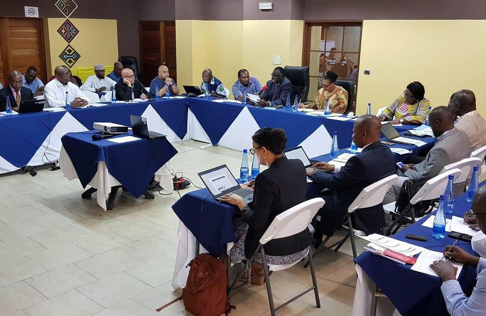 OSESG-B Staff in retreat at the Lake Tanganyika Club in Bujumbura, 25 Jan 2019. UN Photo/Napoleon Viban