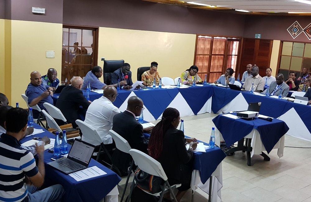 OSESG-B Staff in retreat at the Lake Tanganyika Club in Bujumbura, 25 Jan 2019. UN Photo/Napoleon