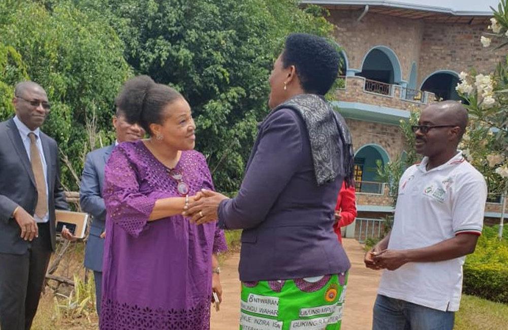Moments at the Good Samaritan Orphanage in Buye, Ngozi, 31 Aug 2019. Photo: UN/Kassimi Bamba