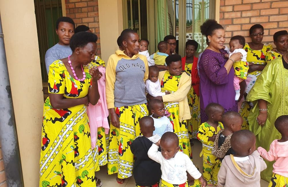 Ambiance cordiale à l'orphelinat du Bon Samaritain à Buye, Ngozi, 31 août 2019. ONU/Kassimi Bamba