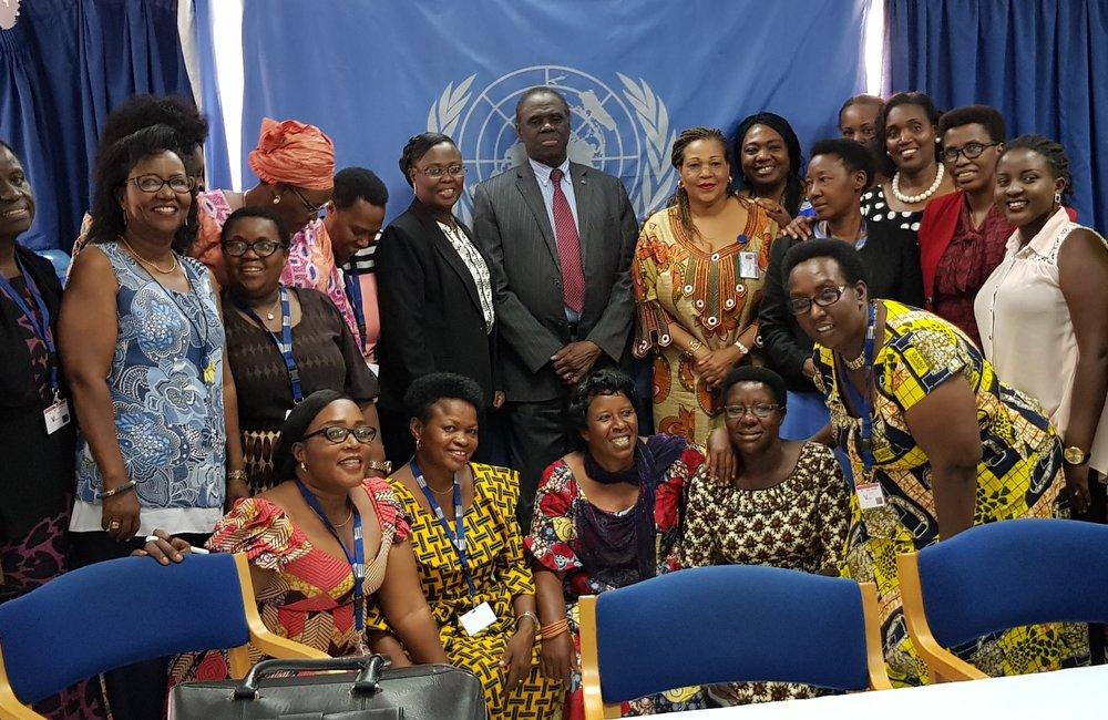 L'envoyé spécial Michel Kafando a rencontré des représentantes de groupes de défense des droits des femmes au Burundi, le 6 septembre 2018. Photo: OSESG-B, N. Viban