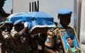 L'ONU rend hommage à deux Casques bleus du Burundi