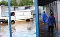 Le BESB déplace des unités et des équipements face à la montée des niveaux d'eau dans le lac Tanganyika