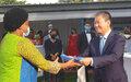 Fermeture du Bureau de l'Envoyé Spécial du Secrétaire Général  pour le Burundi