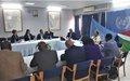 L'envoyé spécial Michel Kafando consulte les chefs d'agences des Nations Unies au Burundi