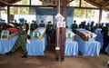 La MINUSCA rend hommage à 5 Bérets bleus tombés au combat, dont 3 Burundais