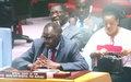 Conseil de sécurité: l'Envoyé spécial appelle les autorités du Burundi à envoyer un « signal fort » en faveur de la reprise du dialogue politique