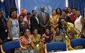 L'Envoyé spécial termine sa visite a Bujumbura